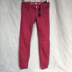 Express Pink Jean Leggings